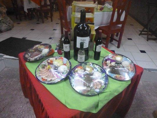 La Mission: Food Samples