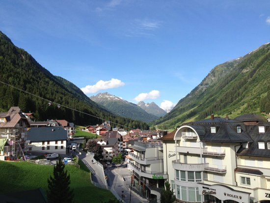 Hotel Post Ischgl : View from my room