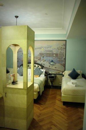 Grand Hotel Savoia: Chambre