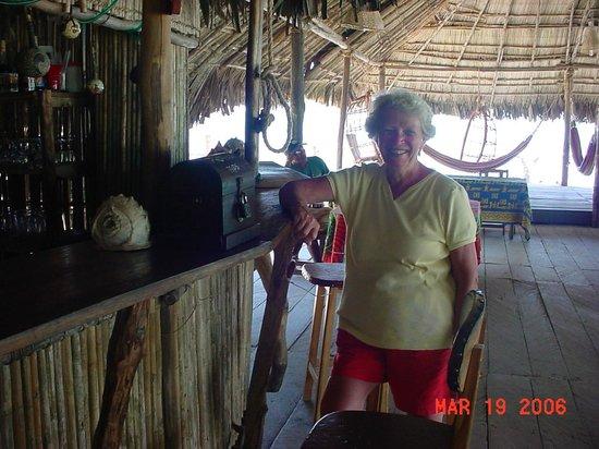 Sapibenega The Kuna Lodge: The bar