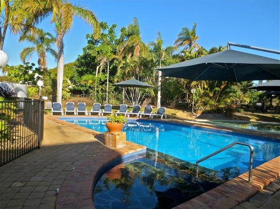 Kellys Beach Resort: Heated pool - great in the winter