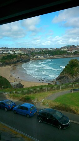 Tregella Hotel Newquay: View from our room
