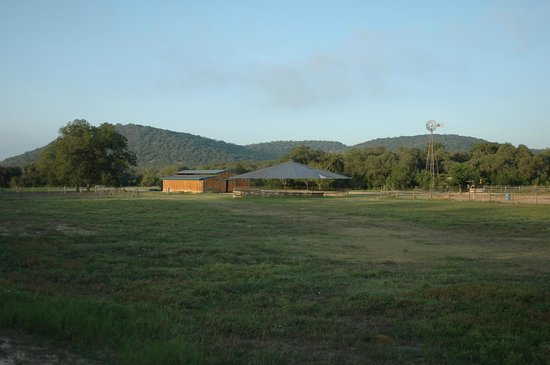 Hill Country Equestrian Lodge: View from Lindig cabin