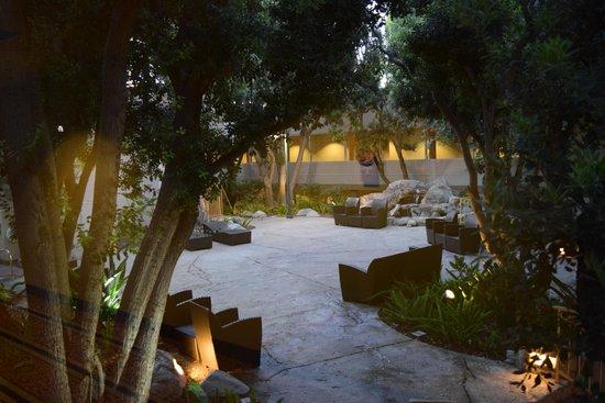 Hilton San Diego Resort & Spa : Garden area / Hot Tub