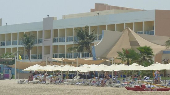 Radisson Blu Resort Fujairah: Ansicht vom Meer