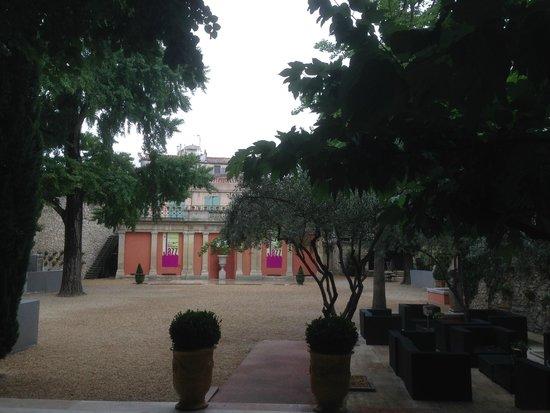 Maison Albar Hotel Nîmes Imperator : Garden