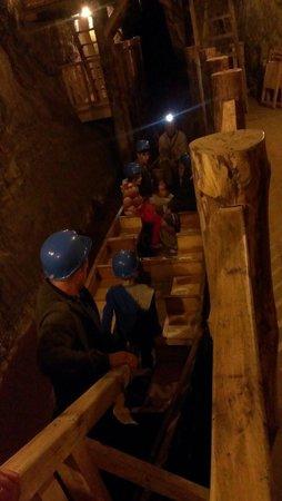 Bochnia Salt Mine: Boat trip in the mine