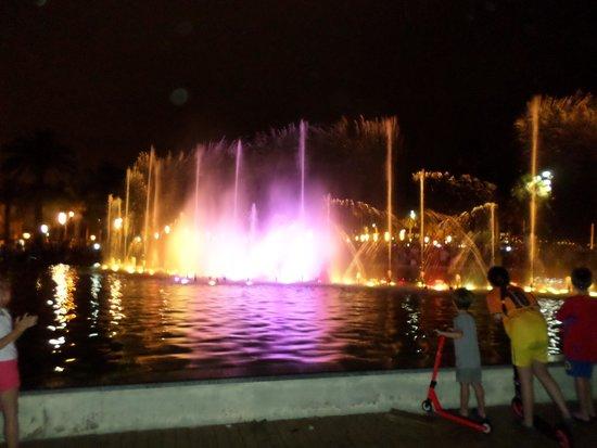 Hotel Golden Port Salou: Second fountain display