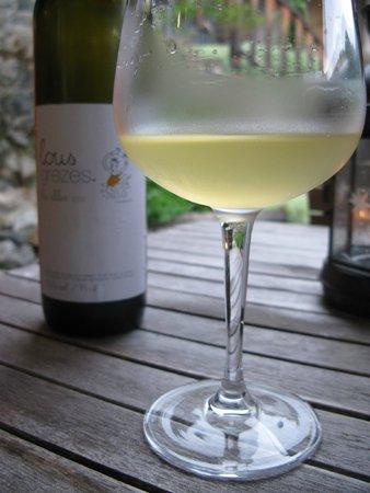 Chalet Lingayoni : De lekkerste wijn die we deze vakantie gedronken hebben