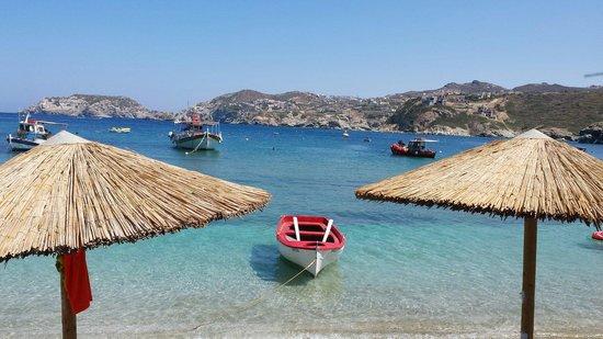 Nicolas Villas : Agia Pelagia beach