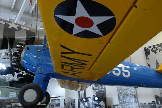 National Museum of the Mighty Eighth Air Force: Stearman