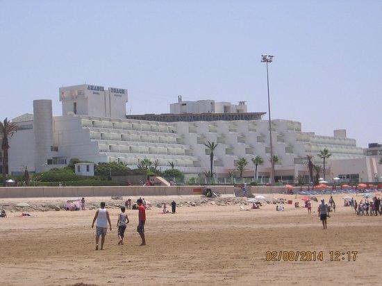 Atlas Amadil Beach Aqua Sun : Widok hotelu z plaży