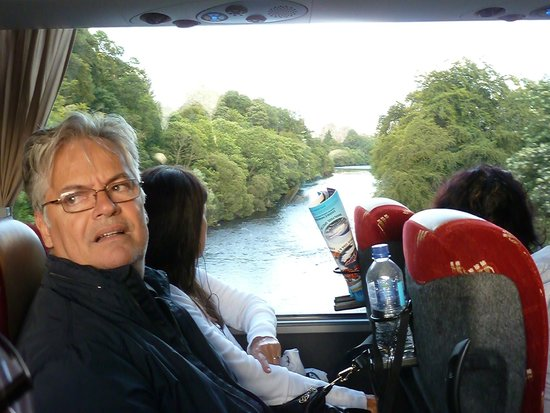 Haggis Adventures: Bus interior