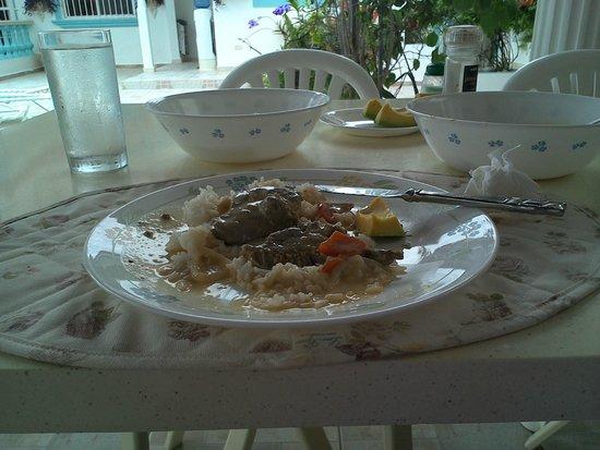 Brisas Doradas B&B: The Food