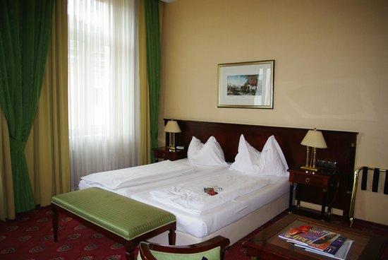 Hotel Beethoven Wien: buenas camas