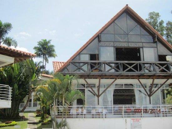 Hotel Mirador Las Palmas : Desde la piscina