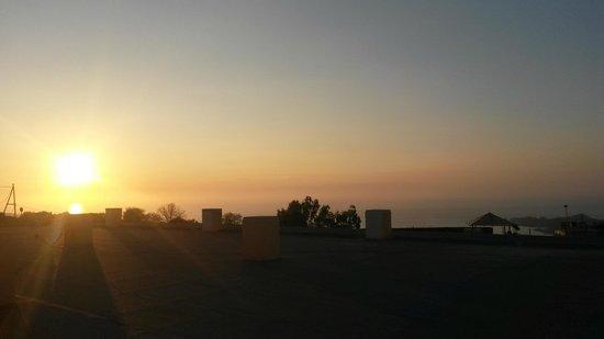 Residence Isola Rossa : tramonto