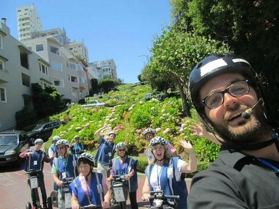 Electric Tour Company Segway Tours: Lombard Street