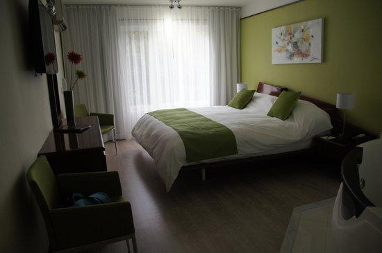 Les Suites de Laviolette : Suite de luxe dans le Pavillon du Fleuve