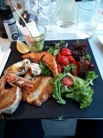 Cote Sud : Grigliata di pesce!