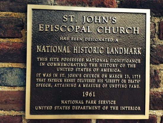 St. John's Episcopal Church: Sign