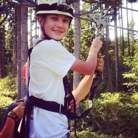 Canopy Tours Northwest: 16th Birthday Zipping!