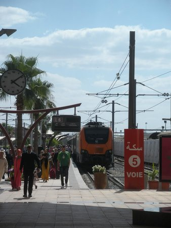 Marrakesh Express: Front of train
