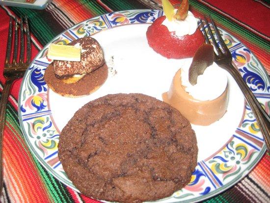 Moon Palace Cancun: desserts