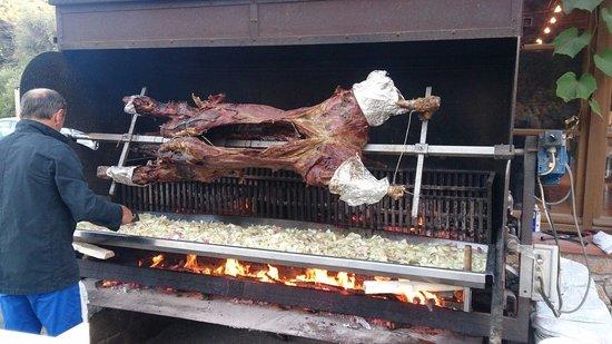 Chez Edgard : Le veau rôti de edgard