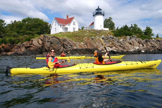 Rockport, ME: Beautiful trip out to Curtis Light.