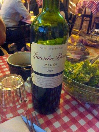 Le bouchouneir : Rien de tel qu'un bon petit vin pour faire passer tout ça