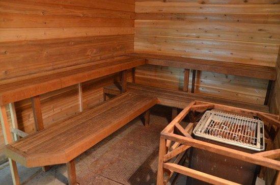 BEST WESTERN PLUS Silverdale Beach Hotel: Sauna