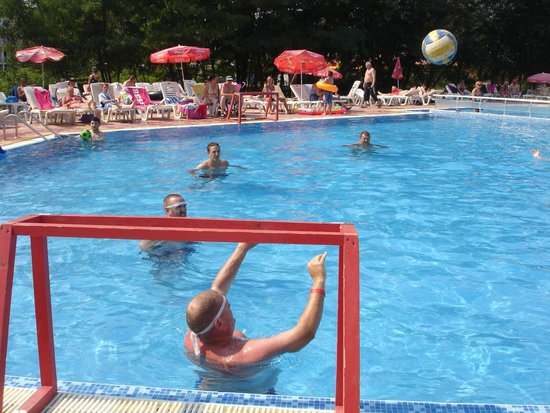 Pomorie Hotel: water polo