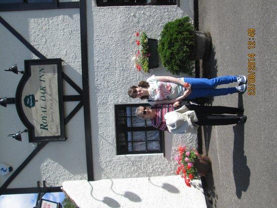 The Royal Oak Inn [The Splash]: Outside the pub