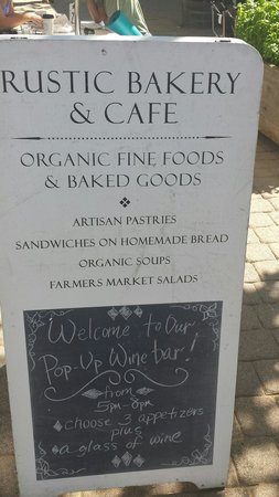 Daily Specials At Rustic Bakery In Larkspur
