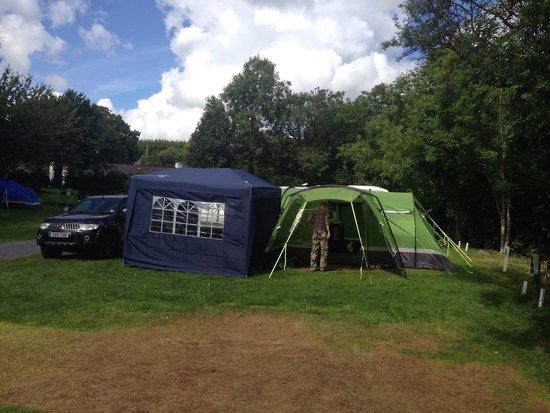 Riverside Camping: All set up