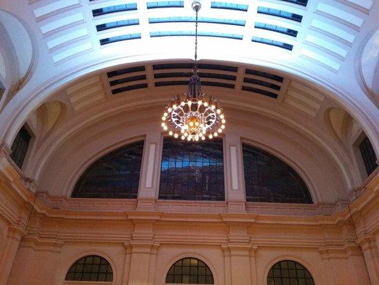 Sala Sao Paulo : Vista da arquitetura do salão