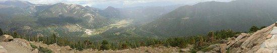 Trail Ridge Road : RAINBOW CURVE OVER LOOK PANORAMIC