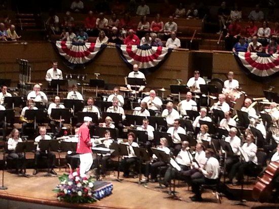 Morton H. Meyerson Symphony Center: DWS 4th of July 2013 at Meyerson