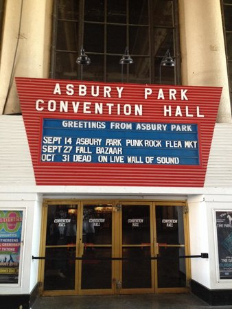 Asbury Park Boardwalk: Music and theater