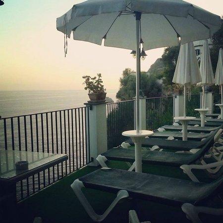 Hotel Villa Maria Pia: Vista dal solarium