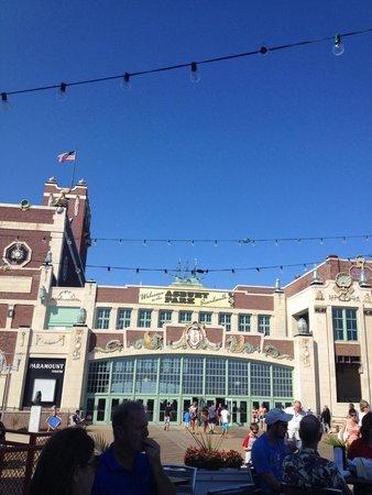 Asbury Park Boardwalk: The Mall