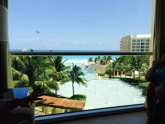 The Westin Lagunamar Ocean Resort Villas & Spa: View from room 646