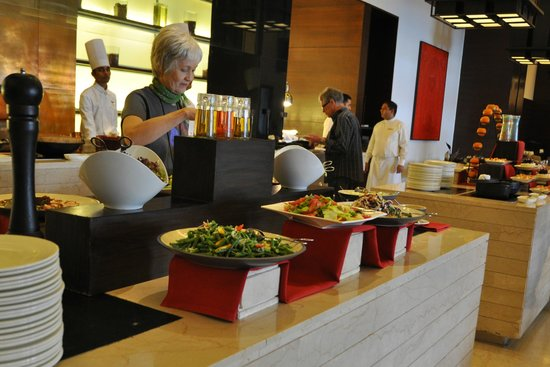 Trident, Agra: Delicious buffet