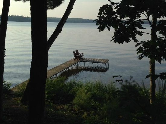 Coon's Franklin Lodge: Beautiful place to enjoy the seclusion