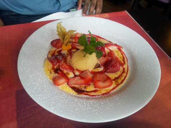 Alyson Kfe: Dessert aux fraises