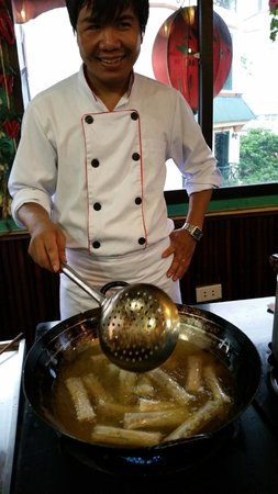Orchid Cooking Class & Restaurant: Chef Tien