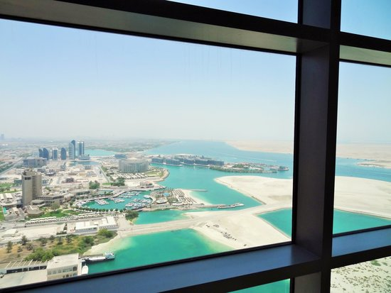 Jumeirah at Etihad Towers: View from my room
