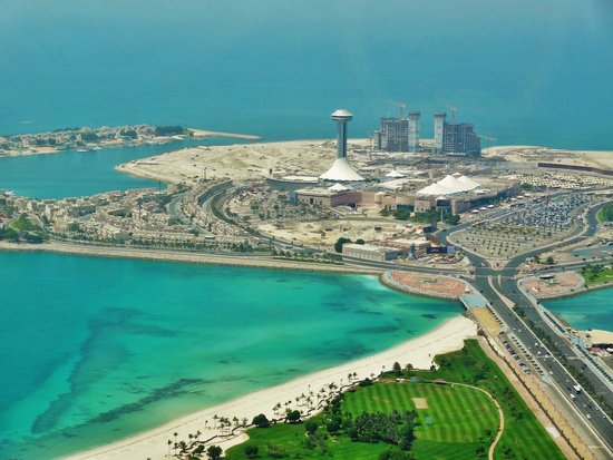 Jumeirah at Etihad Towers: View from the Observation Deck