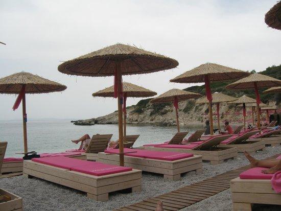 Proteas Blu Resort: Private beach.